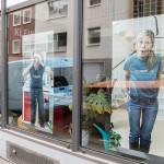 Besprechungsraum Skizze Fotos Fenster