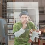 Besprechungsraum Skizze Fenster Foto