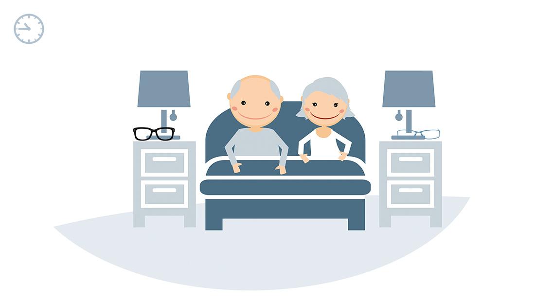 powerpoint illustration chempunkt currenta erklaerfilm schlafzimmer