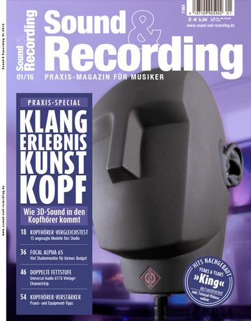 Sound and Recording Ausgabe Januar 2016