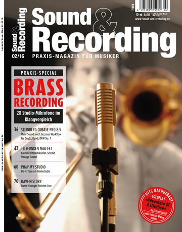 Sound and Recording Ausgabe Februar 2016