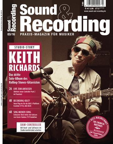 Sound and Recording Ausgabe März 2016