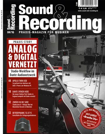 Sound and Recording Ausgabe April 2016