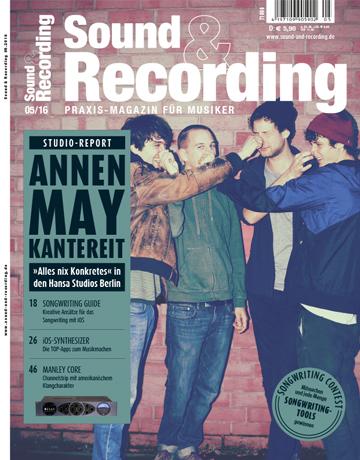 Sound and Recording Ausgabe Mai 2016
