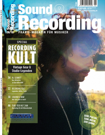 Sound and Recording Ausgabe Juni 2016