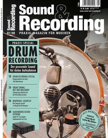 Sound and Recording Ausgabe Juli August 2016