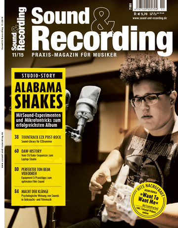 Sound and Recording Ausgabe November 2015