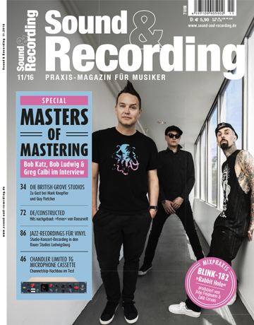 Sound and Recording Ausgabe November 2016