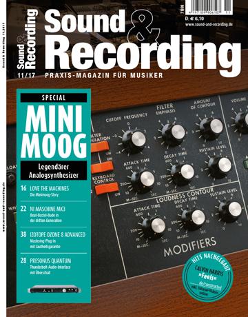Sound and Recording Ausgabe November 2017