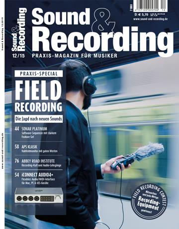 Sound and Recording Ausgabe Dezember 2015