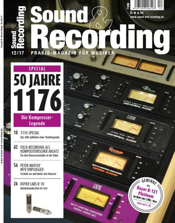 Sound and Recording Ausgabe Dezember 2017
