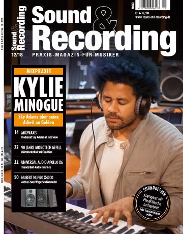 Sound and Recording Magazin Ausgabe Dezember 2018