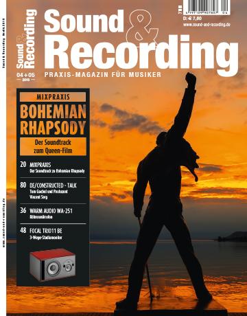 Sound and Recording Magazin Ausgabe April Mai 2019