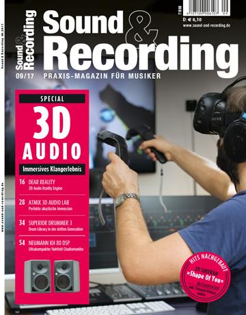 Sound and Recording AusgabeSeptember 2017