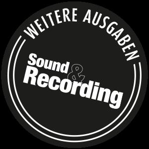 Sound and Recording Button Weitere Ausgaben