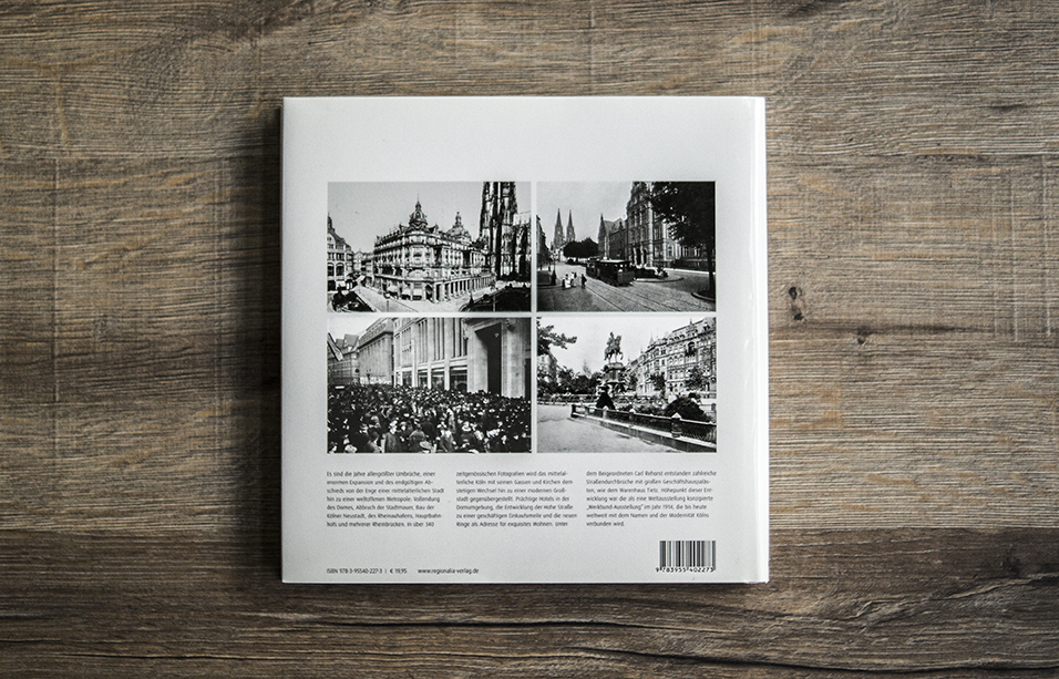 Köln ins Fotografien Rückseite