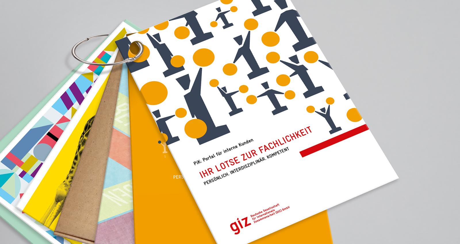 GIZ Karten PiK Portal für interne Kunden Ringbindung