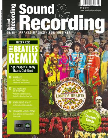 Sound and Recording Magazin Ausgabe März 2018