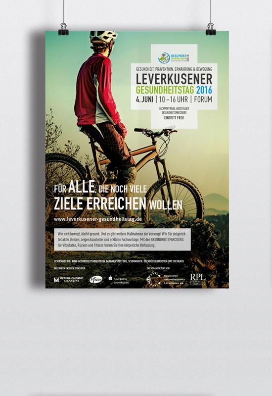 Leverkusener Gesundheitstag Plakat