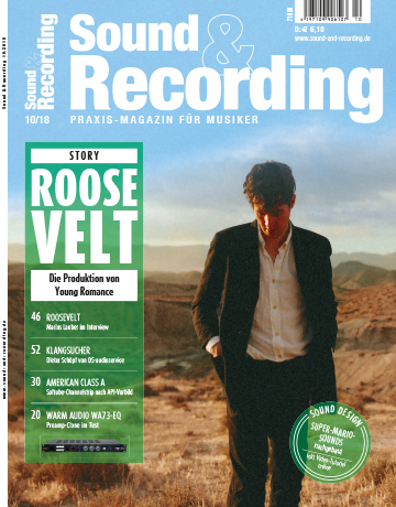 Sound and Recording Magazin Ausgabe November 2018